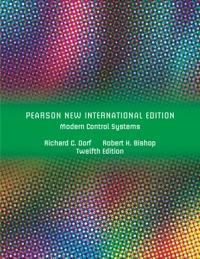 Pdf modern control systems dorf