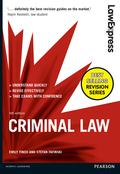 Law Express: Criminal Law 9781292087351