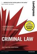 Law Express: Criminal Law 9781292087368