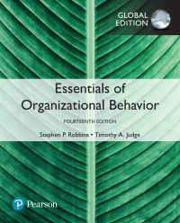 Essentials Of Organizational Behavior Global Edition 14th Edition 9781292221410 9781292221472 Vitalsource