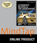 MindTap Automotive for Schnubel's Today's Technician Automotive Heating & Air Conditioning, 5th Edition, [Instant Access], 4 terms (24 months) 9781305275003