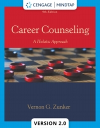 career counseling a holistic approach mindtap course list