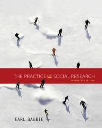 The Practice Of Social Research 14th Edition 9781305104945