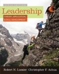 EBK LEADERSHIP: THEORY, APPLICATION, &