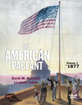 American Pageant, Volume 1 9781305537408R180