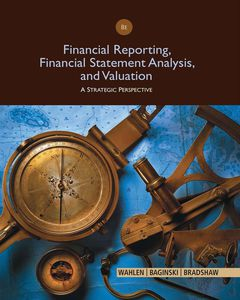 Financial Reporting, Financial Statement Analysis and Valuation