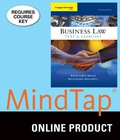 MindTap Business Law for Miller/Hollowell's Cengage Advantage Books: Business Law: Text and Exercises, 8th Edition, [Instant Access], 1 term (6 months) 9781305644823