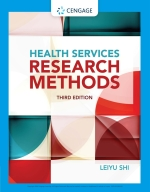 """Health Services Research Methods"" (9781305855786)"