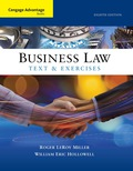 Cengage Advantage Books: Business Law: Text and Exercises 9781305856479R120