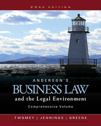 Business law textbooks in etextbook format vitalsource andersons business law and the legal environment compre fandeluxe Choice Image