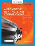 Today's Technician: Automotive Heating & Air Conditioning Classroom Manual and Shop Manual, Spiral bound Version 9781305856660R120