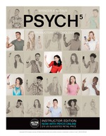 """""""PSYCH 5, Introductory Psychology, 5th Edition"""" (9781305888296)"""