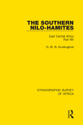 The Southern Nilo-Hamites 9781315312996R90