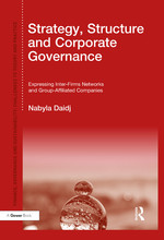 """Strategy, Structure and Corporate Governance"" (9781317049234)"