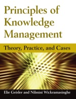 """Principles of Knowledge Management: Theory, Practice, and Cases"" (9781317415152)"