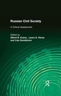 Russian Civil Society: A Critical Assessment 9781317460466R90