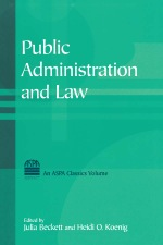 """""""Public Administration and Law"""" (9781317461951)"""