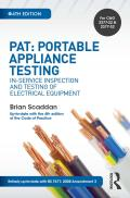 Fully up-to-date with the relevant parts of the 17th Edition IET Wiring Regulations: Amendment 3 and the 2012 Code of Practice Provides all the required information on portable appliance testing in a user-friendly mannerExpert advice from an engineering training consultant, supported with colour diagrams, examples and tablesThe Electricity at Work Regulations 1989 requires any electrical system to be constructed, maintained and used in such a manner as to prevent danger