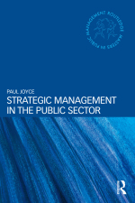 """""""Strategic Management in the Public Sector"""" (9781317579793)"""