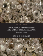 """""""Total Quality Management and Operational Excellence"""" (9781317808428)"""