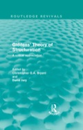 Giddens' Theory of Structuration 9781317829218R90