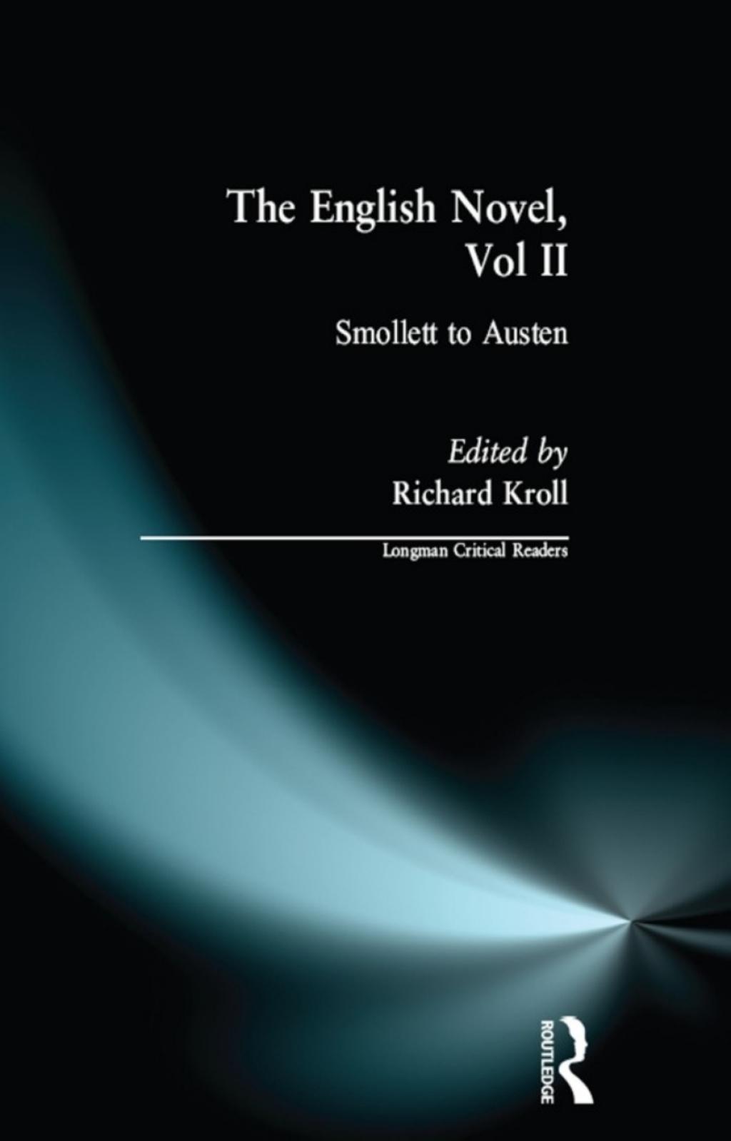 English Novel  Vol II  The (eBook)