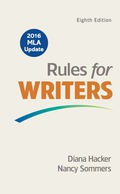 EBK RULES FOR WRITERS WITH 2016 MLA UPD