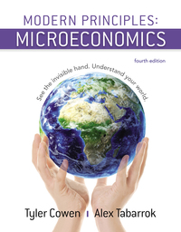 Modern Principles of Microeconomics              by             Tyler Cowen