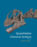EBK QUANTITATIVE CHEMICAL ANALYSIS