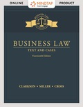 MINDTAP BUSINESS LAW FOR CLARKSON/MILLE