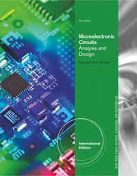 microelectronic circuits analysis and design, international editionmicroelectronic circuits analysis and design, international edition