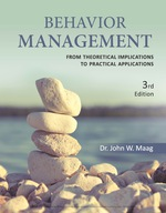 """""""Behavior Management: From Theoretical Implications to Practical Applications"""" (9781337514347)"""