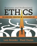 EBK BUSINESS & PROFESSIONAL ETHICS FOR