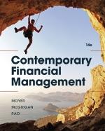 """Contemporary Financial Management"" (9781337514835)"