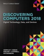 """Discovering Computers ©2018: Digital Technology, Data, and Devices"" (9781337515092)"
