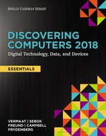 """Discovering Computers, Essentials ©2018: Digital Technology, Data, and Devices"" (9781337515108)"