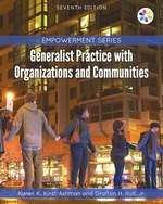 """""""Empowerment Series: Generalist Practice with Organizations and Communities"""" (9781337515214)"""