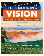 """""""The Enduring Vision: A History of the American People"""" (9781337515276)"""