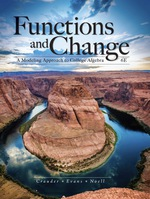 """""""Functions and Change: A Modeling Approach to College Algebra"""" (9781337515610)"""