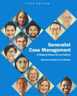 """""""Generalist Case Management: A Method of Human Service Delivery"""" (9781337515665)"""