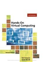"""""""Hands on Virtual Computing"""" (9781337515740)"""