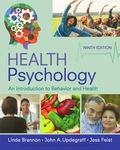 EBK HEALTH PSYCHOLOGY: AN INTRODUCTION