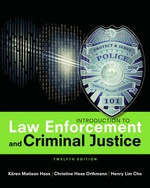 """Introduction to Law Enforcement and Criminal Justice"" (9781337515900)"