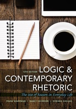 """""""Logic and Contemporary Rhetoric: The Use of Reason in Everyday Life"""" (9781337516129)"""