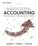 """Managerial Accounting: The Cornerstone of Business Decision-Making"" (9781337516150)"