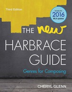 """""""The New Harbrace Guide: Genres for Composing"""" (9781337516341)"""