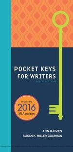 """""""Pocket Keys for Writers, Spiral bound Version"""" (9781337516815)"""