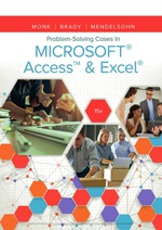 """""""Problem Solving Cases In Microsoft Access & Excel"""" (9781337516983)"""
