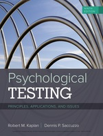 """""""Psychological Testing: Principles, Applications, and Issues"""" (9781337517065)"""