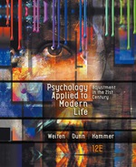 """""""Psychology Applied to Modern Life: Adjustment in the 21st Century"""""""